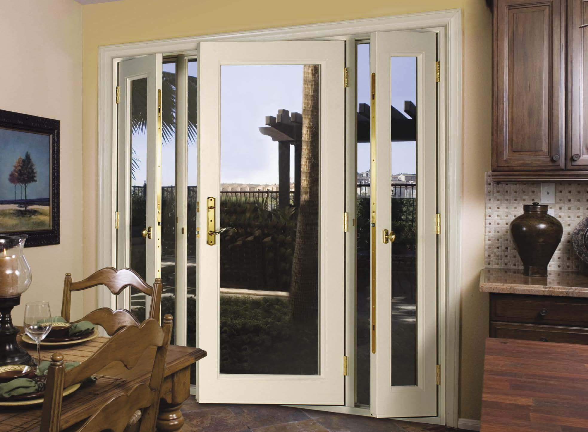 Patio doors with sidelites images for Double entry patio doors