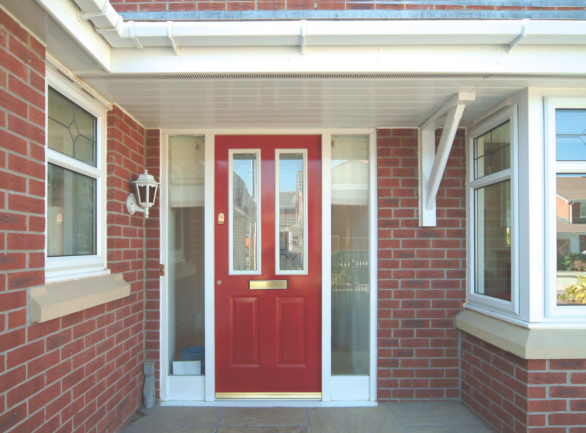 Compdoorsyntek for Double glazed porch doors
