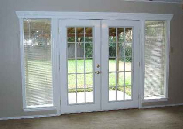 French patio doors images 07 for Small double french doors